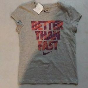 Nike girls cotton tee